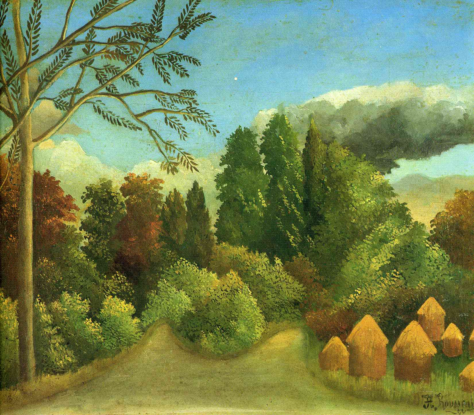 Displaying 18> Images For - Henri Rousseau Famous Paintings...Famous Forest Paintings