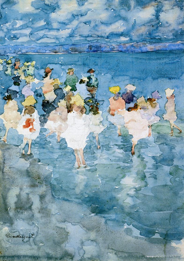 how to tell an original maurice prendergast painting